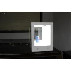 Boîte d'affichage de l'écran transparent avec HDMI entrée VGA