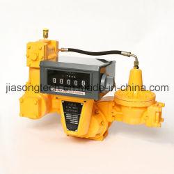 Camión de carga del depósito de gas contador mecánico
