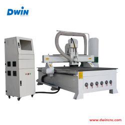 ماكينة العمل الخشبية لموجه ATC Liner 3D Embosment High Speed3d CNC