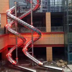 Торговый центр Stainless Steel Slide for People Слайд вниз от Верхний этаж