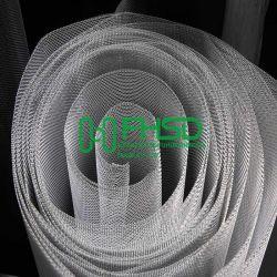 Cor prateada Aluminium Wire Mesh inseto voe Tela Mosquito Netting