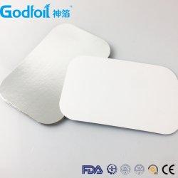 Пользовательские размеры алюминиевой фольги крышки контейнера крышку бумаги для 83120