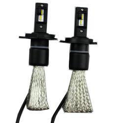 자동차 부속 F7 H4 9003 Hb2 차 헤드라이트 LED H/L 광속 6000k 3200lm 25W LED 헤드라이트 장비 전구 크세논에 의하여 숨겨지는 백색 램프