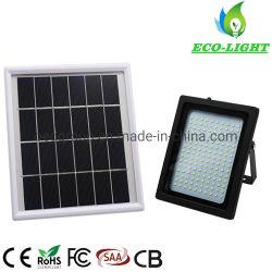 LED de iluminação de jardim impermeável IP65 150W de energia solar exterior Holofote SMD com controle remoto