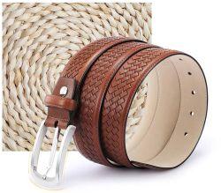 Commerce de gros personnalisés Strench tissé de Boucle ceintures de hanches en cuir
