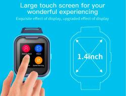 Reloj inteligente con GPS 4G Video Chat El chat de voz IP67 de la comunicación bidireccional para niños