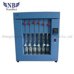 El analizador de grasa Soxhlet para pruebas de laboratorio de grasa cruda Concent