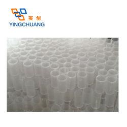 Tube en plastique transparent haute arrondie de gros tuyau acrylique Tube transparent