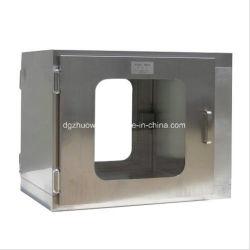 Chambre propre matériel de purification d'Air Pass Case acier inoxydable