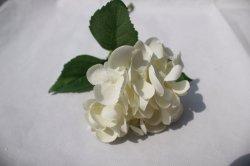 أبيض حريريّة [أرتيفيسل فلوور] تمويه كوبيّة زهرات لأنّ عرس زخرفة بيتيّة