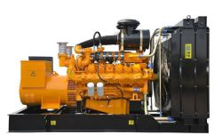 Generator Voor Aardgas Ingesteld Vanaf De Hoofdgenerator