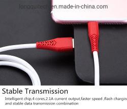 iPhone 6/7/8/X/6s/7s/8xs 실리콘 아연 합금 빠른 비용을 부과 케이블