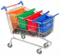 Custom ткань поощрения Non-Woven складная супермаркет тележки сувениры