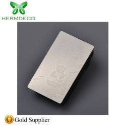 304 het in reliëf gemaakte Blad van het Roestvrij staal voor de Decoratie van de Deur van de Lift