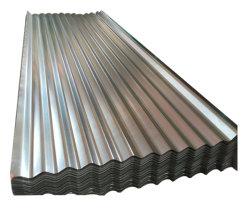Strato d'acciaio laminato a freddo galvanizzato tuffato caldo del tetto del ferro ondulato del materiale da costruzione del metallo dello strato rivestito in lega di zinco del tetto nel Ghana