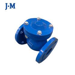 Extrémités de la bride en acier ductile résistant assis assis en métal BS3202 F5153 DIN6 avec levier de commande et contrôle de rotation de contre-poids/bille/Double Silient/la plaque de soupape de contrôle