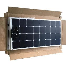100W Semi Flexível Painéis Solares com 1KW inversor e 20um controlador de carga