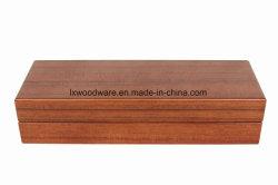 Высокого глянца деревянная подарочная упаковка для хранения пера
