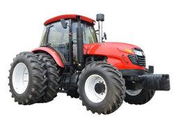 二重クラッチが付いている大きい農業の農場の車輪のトラクター