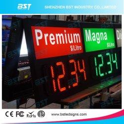 Im Freien große LED-Gaspreis-Zeichen-Bildschirmanzeige für Treibstoff-/Tankstelle
