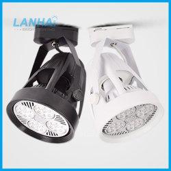 Via LED 25W 35W 40W 45W Preto Branco iluminação LED Par30 via LED Light
