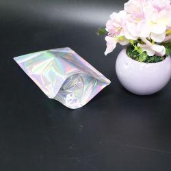 Sac de plastique stratifié Laser Pet avec fermeture à glissière pour l'emballage du produit