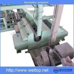 Máquina de fundición centrífuga automática completa para la aleación de aluminio