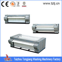Flatwork Industrial Ironer para Hotel/Hospital Single Roller/Double Rollers, Three Rollers