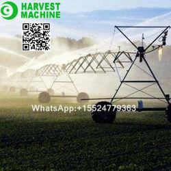 A agricultura chinesa tipo pivô central do sistema de irrigação agrícola com sprinklers Nelson