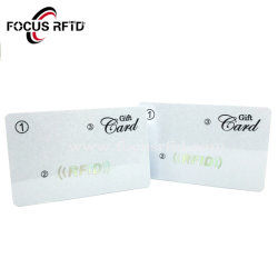 Lire et écrire la carte à puce RFID avec une bande magnétique/Code à barres/Logo