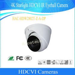 Dahua 4K Starlight Hdcvi IR no globo ocular câmara CCTV Fornecedores Vigilância à prova de Câmera de Vídeo Digital (HAC-HDW2802T-Z-A/HAC-HDW2802T-Z-A-DP)