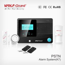 Novo Sistema de Segurança Automática de Incêndio Sem Controle do Sistema de Controle de Alarme PSTN para segurança doméstica Yl-007k7