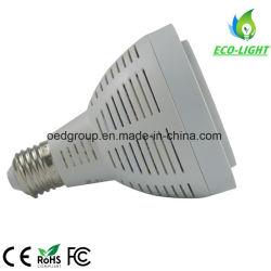 Ce и RoHS E27 LED PAR30 30W PAR30 с короткой шейкой с алюминиевый радиатор 3 лет гарантии на 70W психического галоидных замена лампы