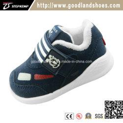 Mode d'enfants Les enfants Baby Boys Girls Canvas Sneakers à semelle souple chaussures de course occasionnels ex-9101