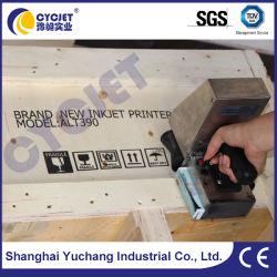 Cycjet Alt382 Dispositivo de bolsillo de la máquina de codificación de inyección de tinta la impresión de etiqueta en la madera