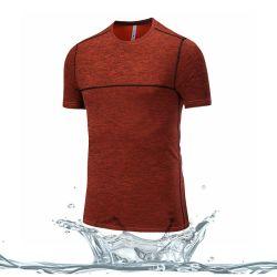 Le sport à bon marché de gros hommes respirant's Gym Fitness T Shirt d'usure