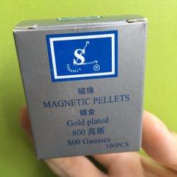 Palline magnetiche (aghi/sfera dell'orecchio) con Gold-Plated