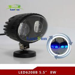 LED 8 W6208 de Gros voyant bleu Safety Spotlight pour les chariots élévateurs