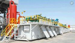 Système de contrôle et de boue solide système de circulation(sable,de la pompe de réservoir de boue Agatator,,pompe de cisaillement,Agitateur de schiste,Desander,Desilter,nettoyeur de boue,pompe centrifuge de centrifuger,etc