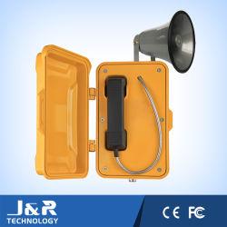 Telefone Industrial, telefone de emergência com amplificador de página
