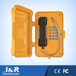 ヘビーデューティ屋外電話、耐候性電話フルキーパッド + 特殊ファンクションキー、ヘビーデューティ VoIP 電話