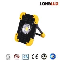 Ordinateur portable de plein air de haute qualité 190 Lumen Projecteur LED rechargeable Spotlight d'urgence