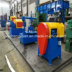 Pneumatico residuo semi automatico che ricicla la riga di gomma della polvere