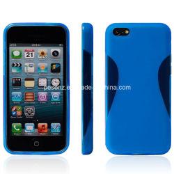 Acessórios para telefone celular TPU, Caso para iPhone 5G/5s