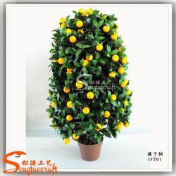 Naranjo Bonsai artificial para la decoración del hogar