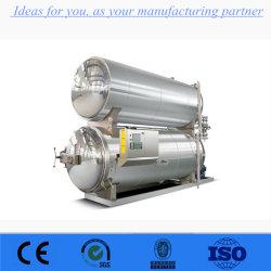 Esterilizador Autoclave industrial para a lata, frasco de vidro, saco de PP