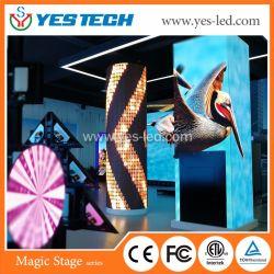 Colonna dell'interno ed esterna di colore completo del video LED dello schermo