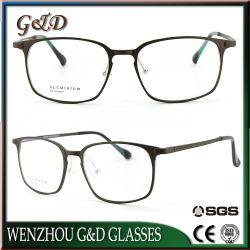 Fabricación de la moda al por mayor Venta de óptica de aluminio del bastidor de gafas