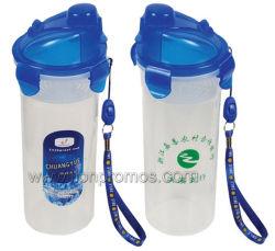 Bon marché sans BPA Telecom boire des boissons de la banque des cadeaux cadeau Bouteille de blocage en plastique