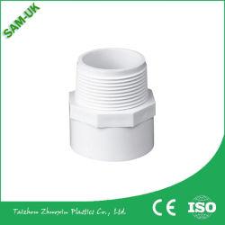 低価格 Sch40 ASTM D2466 白色 PVC オスアダプタ An05